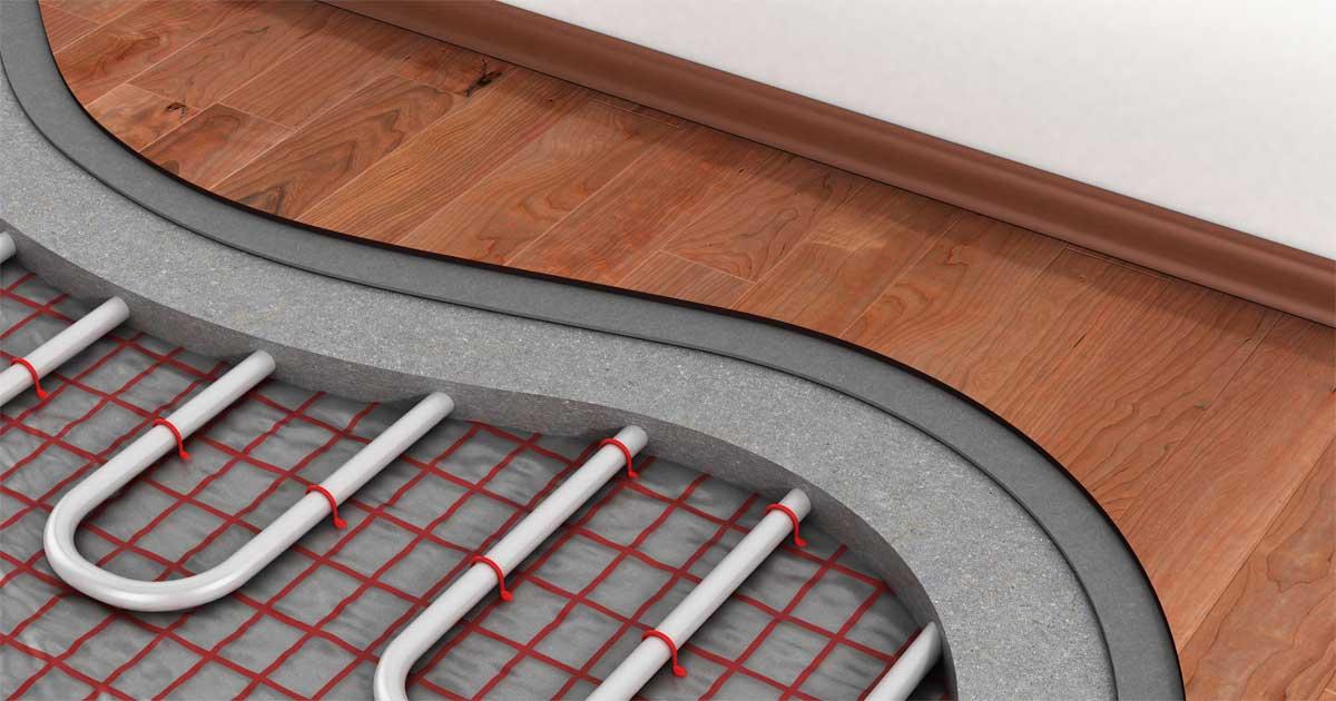 Riscaldamento a pavimento abbinato a parquet - ParquetVivo